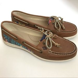 NWOT Sperry Firefish Seaweed Boat Shoes